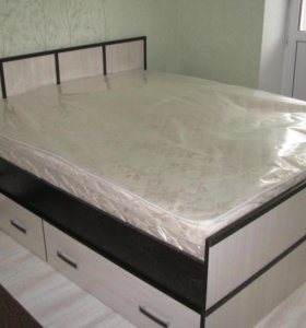Купить поролоновый матрас для двуспальной кровати