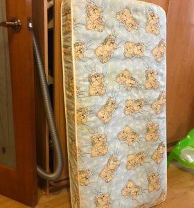 Диван кровать с раскладывающимся ортопедическим матрасом