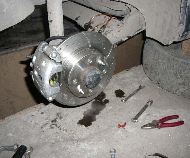 Как сделать дисковые задние тормоза на ваз 2110