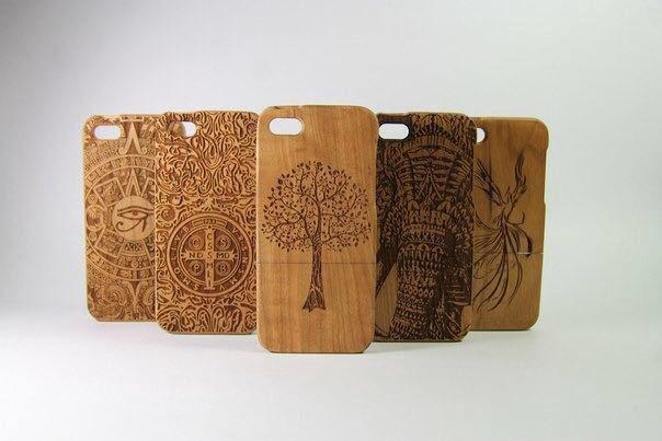 Деревянные чехлы для телефонов своими руками