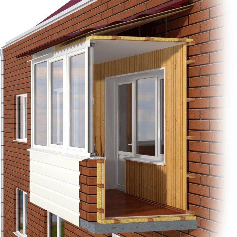 """Остекление и отделка балконов и лоджий под ключ в вязьма - """"."""