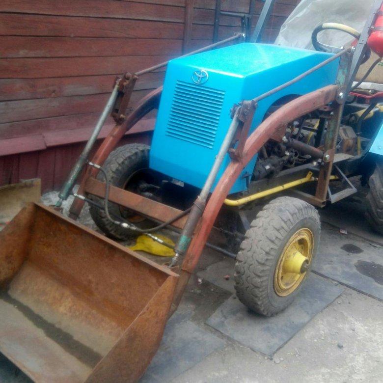 Самодельный трактор в бийске
