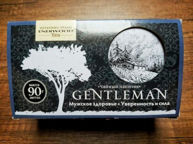 Чайный напиток джентльмен мужское здоровье уверенность и сила