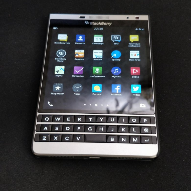 Manuale blackberry passport italiano
