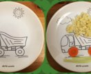 Детская посуда с любым изображением.