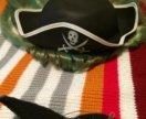 Шляпа пирата и усы