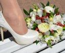 Продам свадебные туфли!