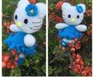 Hello kitty Хелоу  Китти Амигуруми ручная работа