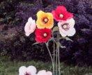 Ростовые цветы для декора праздников и свадеб