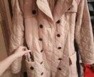 Стеганное пальто chloe