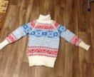 Новый очень тёплый свитер ( ручная работа)