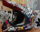 Детский кроссовый шлем