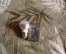 Лампочка разноцветная