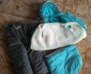 Продам зимний комплект на ребенка от 6 месяцев