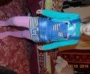 Джинсовый комбез, юбка