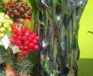 Ваза для цветов Мурановское стекло