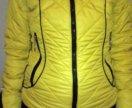 Теплая куртка р-р 42