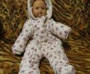 Детский демисезонный комбинезон BabyGo (размер 68)