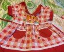 Новое платье 0-7 мес