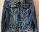 Джинсовая куртка в стиле Гранж (женская)