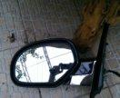 левое боковое зеркало с электроприводом и с датчик