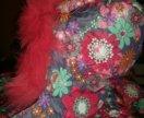 Красивая зимняя куртка для девочки бу