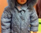 Пальто зима для девочки 104 р.