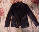 Натуральная кожаная куртка 42р