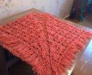 Вязанная шаль