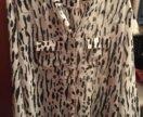 Рубашка леопард-зебра