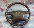 Руль Toyota  с подушкой airbag SRS