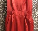 Платье с кармашками