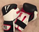 Перчатки боксёрские TITLE Gel Suspense 18oz (кожа)