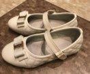 Туфли белые р-р 29, 18см