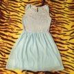 Нежно-голубое платье 👗