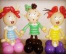 Фигуры из шаров в ассортименте