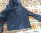 Куртка зимняя женская коженная