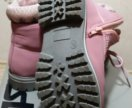 "Ботинки ""тимберленды"" для девочки"