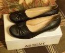 Туфли женские 38 размер, натуральная кожа.