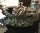 Корабль для аквариума, поменяю на Растения, рыбки