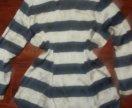 Блузка + юбка шорты
