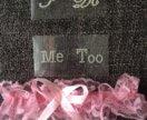 Свадебные наклейки на обувь, подвязка