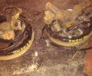 Тормозные барабаны в сборе с рычагом