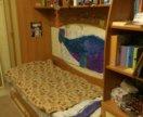 Детская кровать с орт. матрасом и шкафом(есть сини