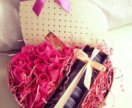 Коробочка с цветами !!!