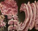 Мясо домашнего копчения, свежее