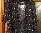 Рубашка - блузка с оригинальным рисунком