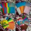Много картона и бумаги за 500 рублей