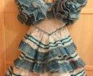 Праздничное платье на девочку 3-5 лет