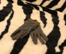 Перчатки замша и шерсть reserved